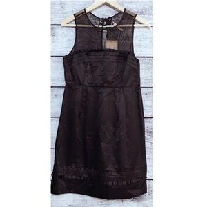 NWT Juicy Couture Satin Mesh Sleeveless Dress